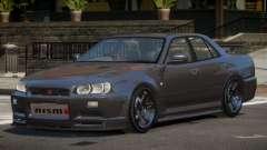 Nissan Skyline R34 D-Style para GTA 4