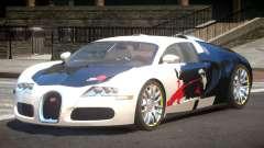 Bugatti Veyron 16.4 S-Tuned PJ1 para GTA 4