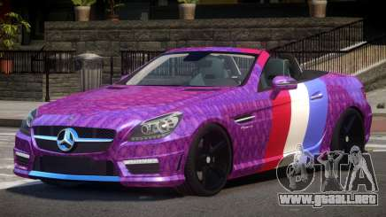 Mercedes Benz SLK DDS PJ2 para GTA 4
