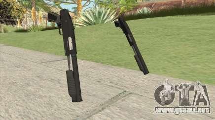 Sawed-Off Shotgun GTA V (Black) para GTA San Andreas