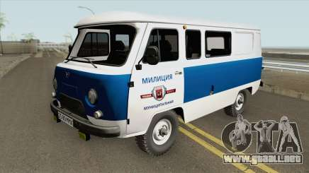 UAZ 3962 (Policía Municipal) para GTA San Andreas