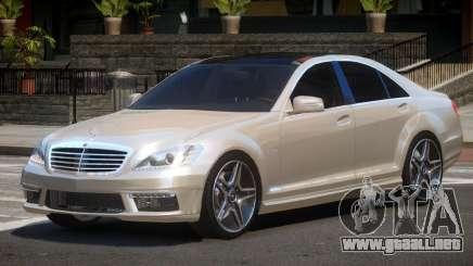Mercedes-Benz S63 E-Style para GTA 4