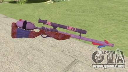 Stylized Dart Sniper para GTA San Andreas