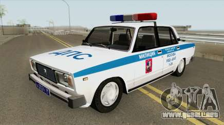 VAZ 2105 DPS (Policía de Moscú) para GTA San Andreas