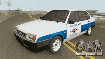 VAZ 21099 (Policía Municipal) para GTA San Andreas
