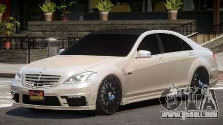 Mercedes Benz W221 E-Style para GTA 4