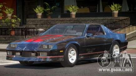 Chevrolet Camaro IR PJ4 para GTA 4