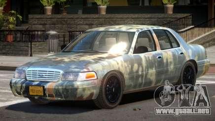 Ford Crown Victoria CL PJ4 para GTA 4