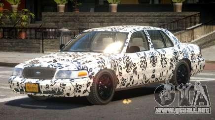 Ford Crown Victoria CL PJ6 para GTA 4