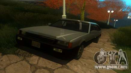 Blista Liftback para GTA San Andreas