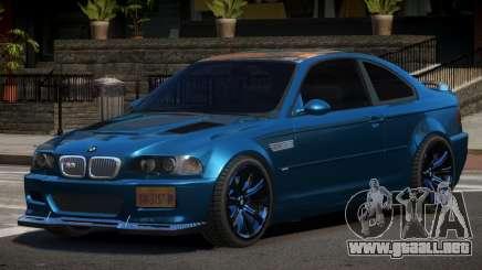 BMW M3 E46 S-Tuning para GTA 4