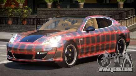 Porsche Panamera ML PJ5 para GTA 4