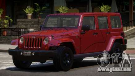 Jeep Wrangler LT PJ5 para GTA 4