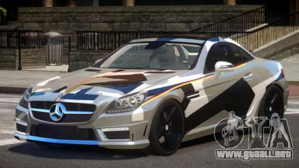 Mercedes SLK55 RG38 PJ4 para GTA 4