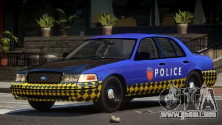 Ford Crown Victoria LT Police para GTA 4
