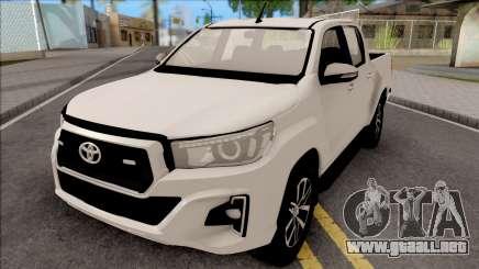 Toyota Hilux Revo Rocco 2019 para GTA San Andreas