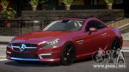 Mercedes SLK55 RG38 para GTA 4