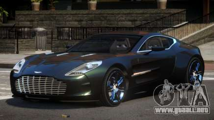 Aston Martin One-77 GT para GTA 4