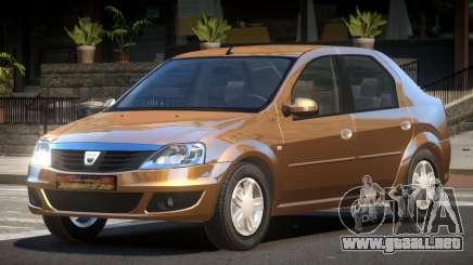 Dacia Logan LS para GTA 4