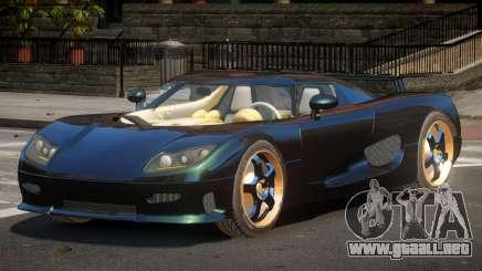 Koenigsegg CCRT Sport para GTA 4