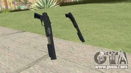 Sawed-Off Shotgun GTA V (LSPD) para GTA San Andreas