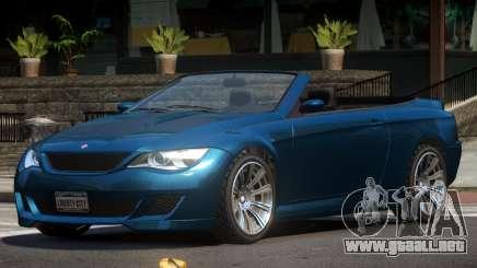 Ubermacht Zion Cabrio para GTA 4