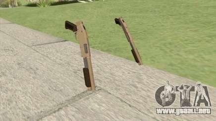 Sawed-Off Shotgun GTA V (Army) para GTA San Andreas