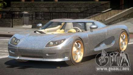 Koenigsegg CCRT Sport PJ2 para GTA 4