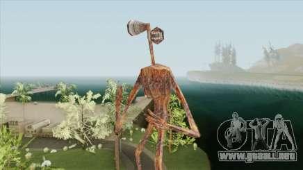 Siren Head para GTA San Andreas