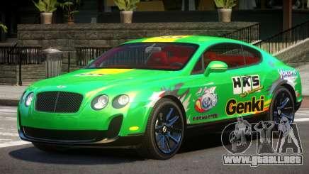 Bentley Continental RT PJ5 para GTA 4