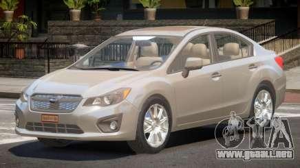 Subaru Impreza SN28 para GTA 4