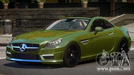Mercedes Benz SLK Qz PJ4 para GTA 4