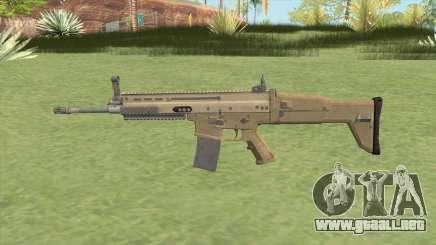 SCAR-L (Army) para GTA San Andreas