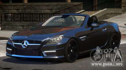 Mercedes Benz SLK DDS para GTA 4