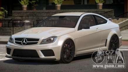Mercedes Benz C63 S-Tuned para GTA 4