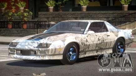 Chevrolet Camaro IR PJ6 para GTA 4