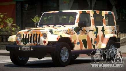 Jeep Wrangler LT PJ2 para GTA 4
