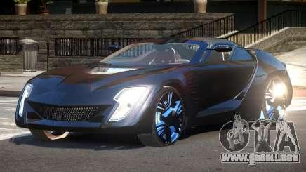 Bertone Mantide ST para GTA 4
