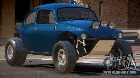 Volkswagen Fusca Custom para GTA 4