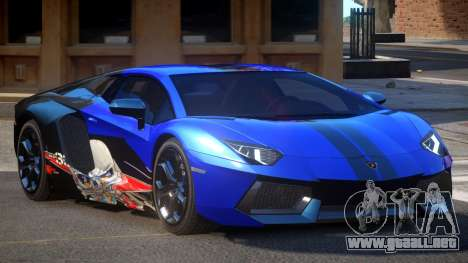 Lamborghini Aventador G-Tuned PJ6 para GTA 4