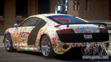 Audi R8 R-Tuned PJ6 para GTA 4