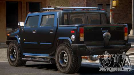 Hummer H2 TR para GTA 4
