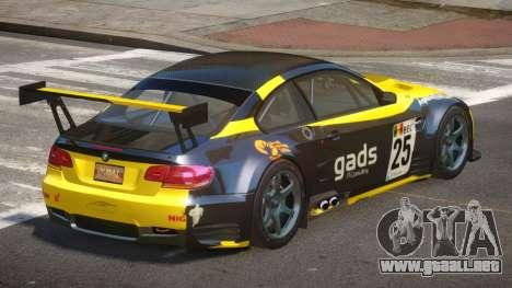 BMW M3 GT2 MS PJ4 para GTA 4