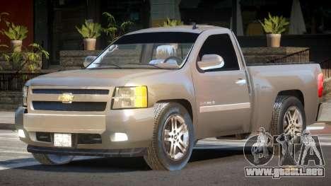 Chevrolet Silverado RT para GTA 4