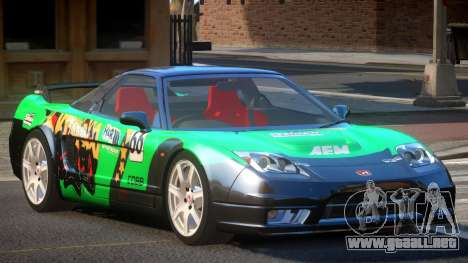 Honda NSX Racing Edition PJ2 para GTA 4