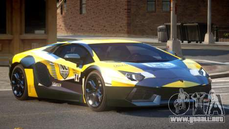 Lamborghini Aventador G-Tuned PJ2 para GTA 4