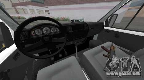 GAZelle 32213 Parte De El Deber para GTA San Andreas