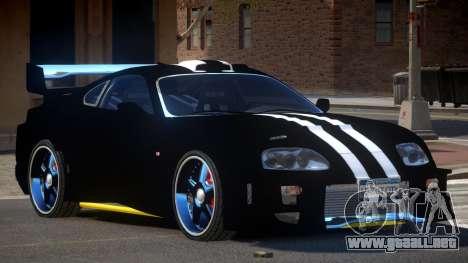 Toyota Supra S-Tuning para GTA 4