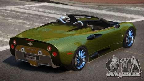 Spyker C8 R-Tuned PJ4 para GTA 4