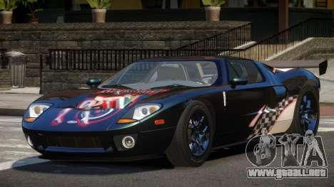Ford GT1000 RS PJ4 para GTA 4